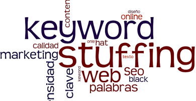 Usar keyword stuffing